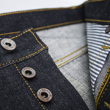 Load image into Gallery viewer, NST130 - VINTAGE CLASSIC BLACK DENIM - Nama Denim