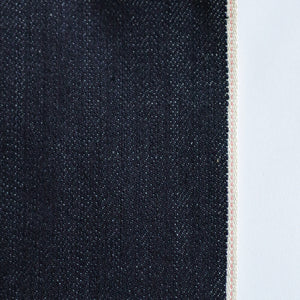 STRETCHY SELVEDGE DEEP INDIGO PINK ID