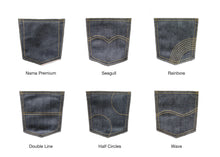 Load image into Gallery viewer, DOUBLE BLACK STRETCH SELVEDGE DENIM - Nama Denim