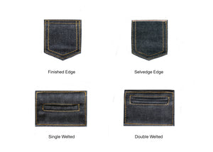 TWO TONE SELVEDGE PAPER WEIGHT DENIM
