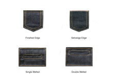 Load image into Gallery viewer, SLUBBY INDIGO SELVEDGE DENIM