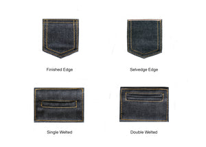 DOUBLE BLACK STRETCH SELVEDGE DENIM - Nama Denim