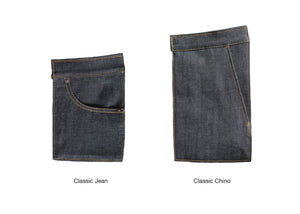 DEEP INDIGO FOREST GREEN SELVEDGE DENIM - Nama Denim