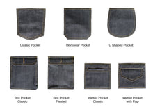 Load image into Gallery viewer, NDL202 LOW TENSION SLUBBY, NEPPY AND HEAVY SELVEDGE DENIM