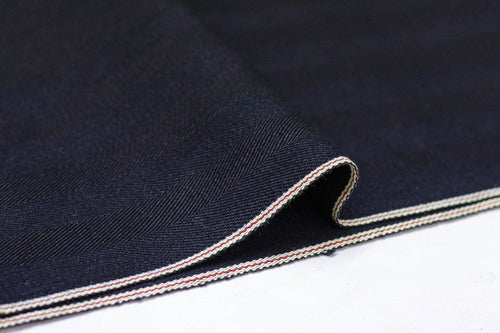 NDL200 INDIGO x INDIGO HERRINGBONE DENIM *