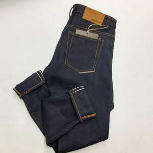NDL200 INDIGO x INDIGO HERRINGBONE DENIM