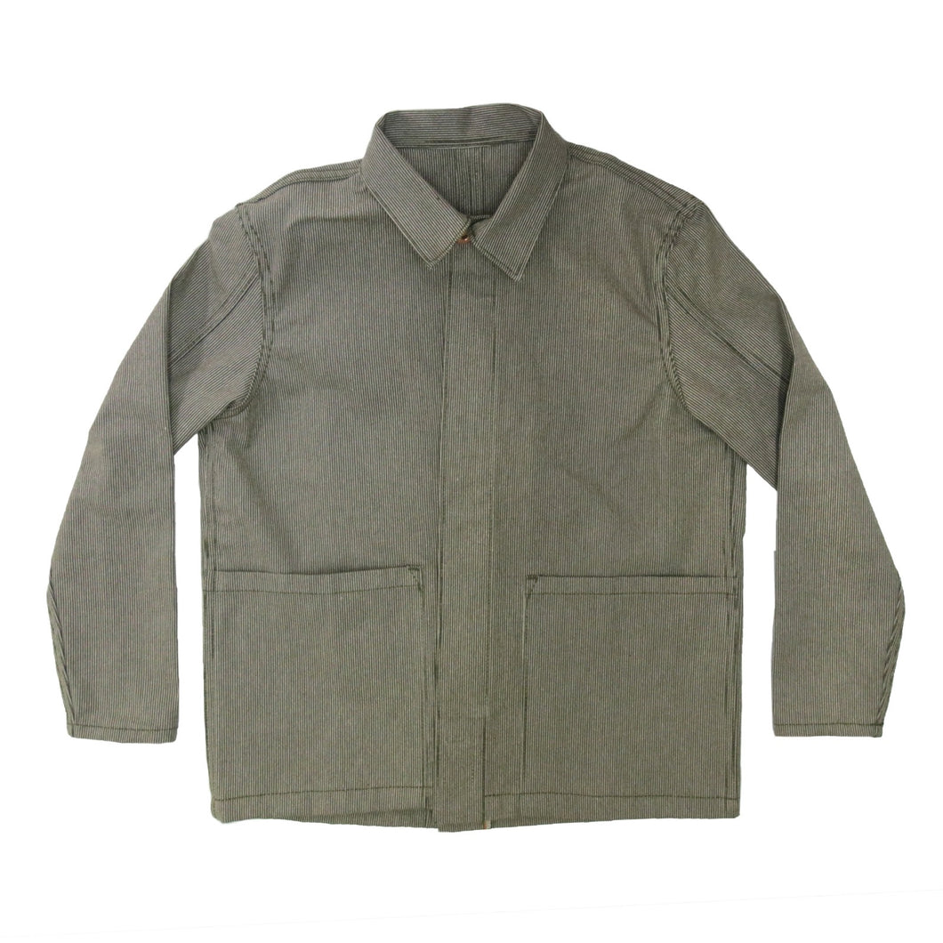 EASY JACKET OLIVE WABASH / ONE WASH - Nama Denim