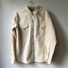 Load image into Gallery viewer, KINARI SELVEDGE WESTERN SHIRT