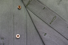 Load image into Gallery viewer, EASY JACKET OLIVE WABASH / ONE WASH - Nama Denim