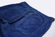 Load image into Gallery viewer, INDIGO CORDUROY WORKWEAR SHORTS