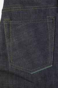 NP006 - FOREST GREEN SELVEDGE DENIM