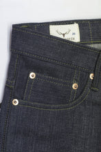 Load image into Gallery viewer, NP006 - FOREST GREEN SELVEDGE DENIM