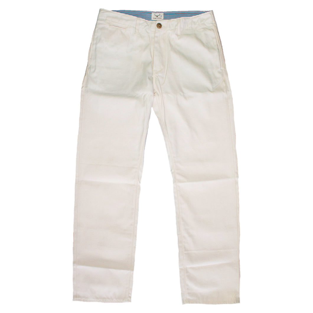 WW001 Officer Trousers (Off-White)