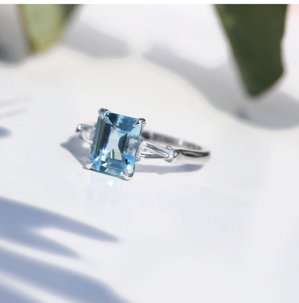 Aquamarine Engagment Ring : All You Need to Know