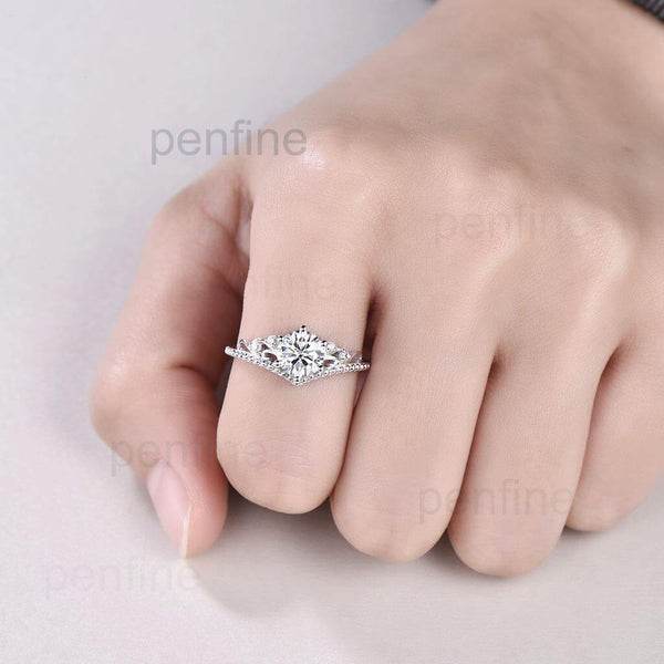 moissanitre ring for sale