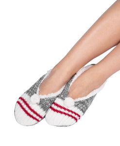 Canadiana Slipper - Red