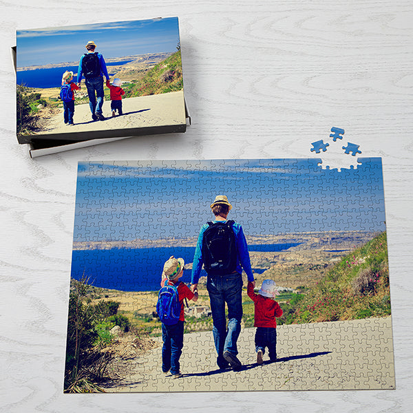 Picture It! Personalized Jumbo 500 Piece Photo Puzzle