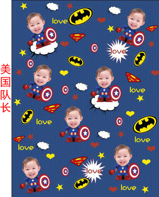 DIY custom photos custom children blankets