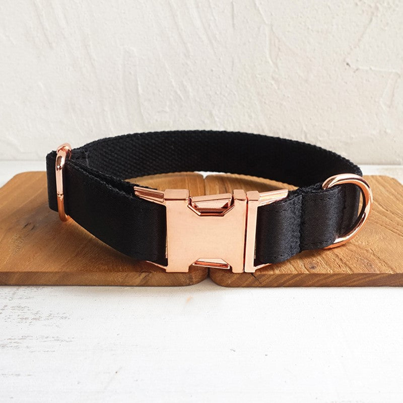 Lettering anti-lost collar famous dog collar