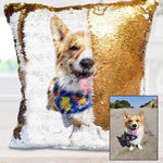 Custom image sequin pillowcase