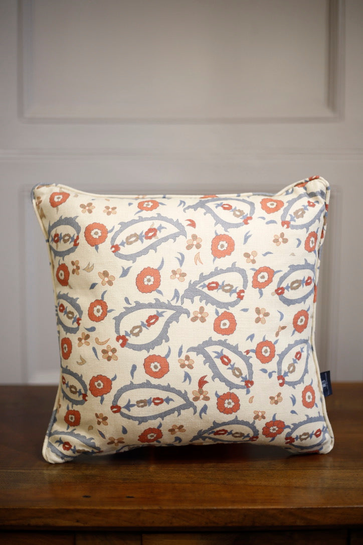 TallBoy Interiors 15inch cushion- Trad floral - TallBoy Interiors