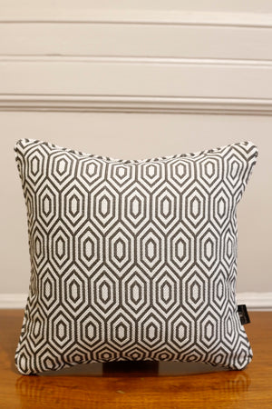 TallBoy Interiors 16inch Cushions- Geometric grey - TallBoy Interiors