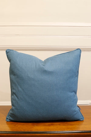 TallBoy Interiors 20inch Cushion- Teal linen - TallBoy Interiors