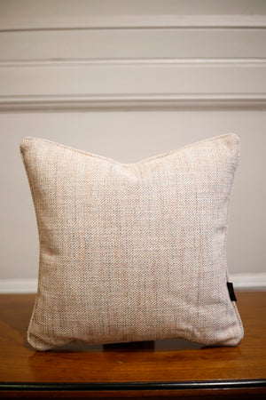 TallBoy Interiors 16inch cushions- Colefax pink linen - TallBoy Interiors
