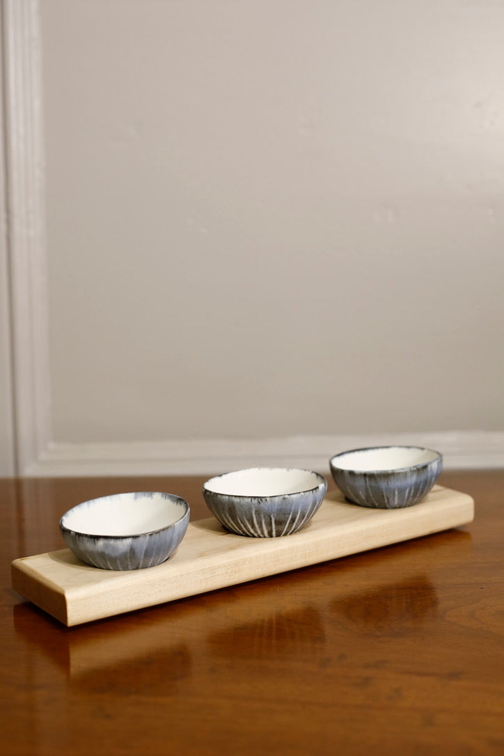 Talvi trio bowl set of wood - TallBoy Interiors