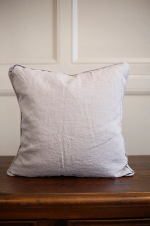 Lisbon Citrine 100% Linen Cushion 20x20inches - TallBoy Interiors