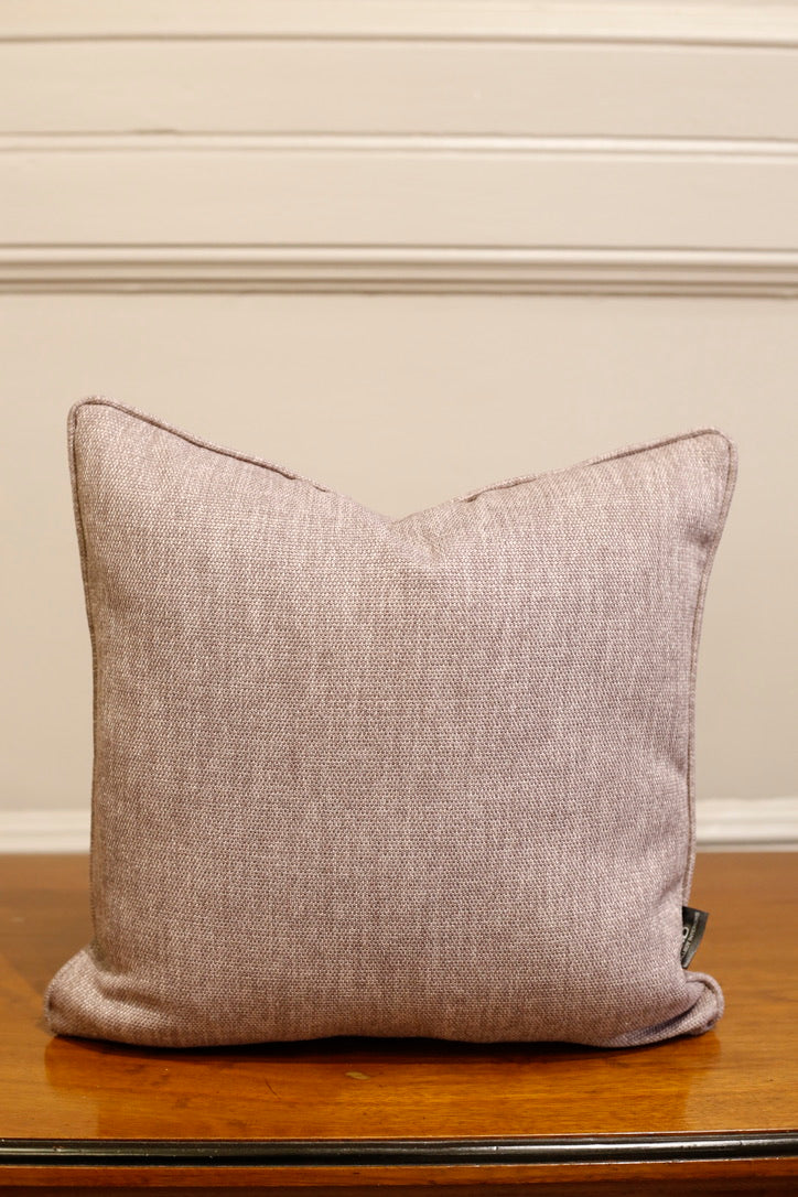 TallBoy Interiors 16inch Cushion- Purple linen - TallBoy Interiors