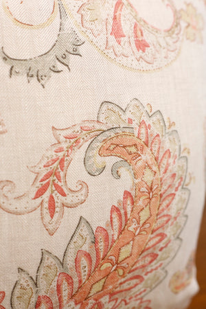TallBoy Interiors 20inch Cushion- Colefax floral - TallBoy Interiors