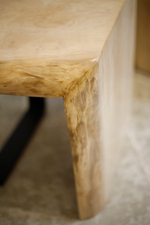 Pair of Sycamore live edge side tables by TallBoy - TallBoy Interiors