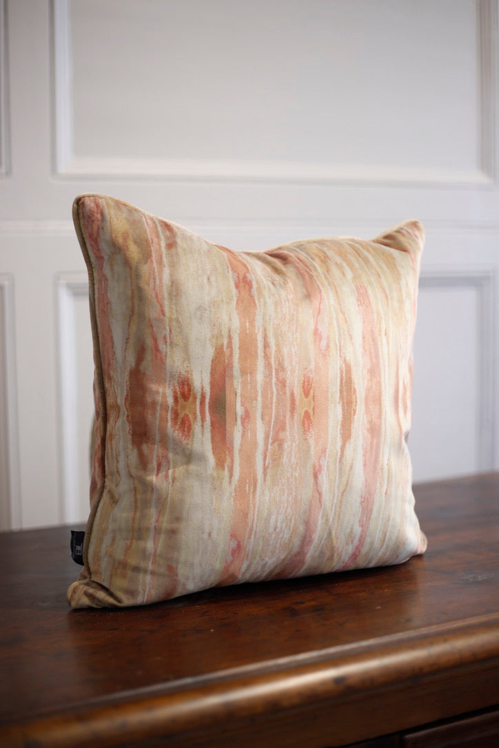 Wild Fire Patterned Velvet cushions - TallBoy Interiors