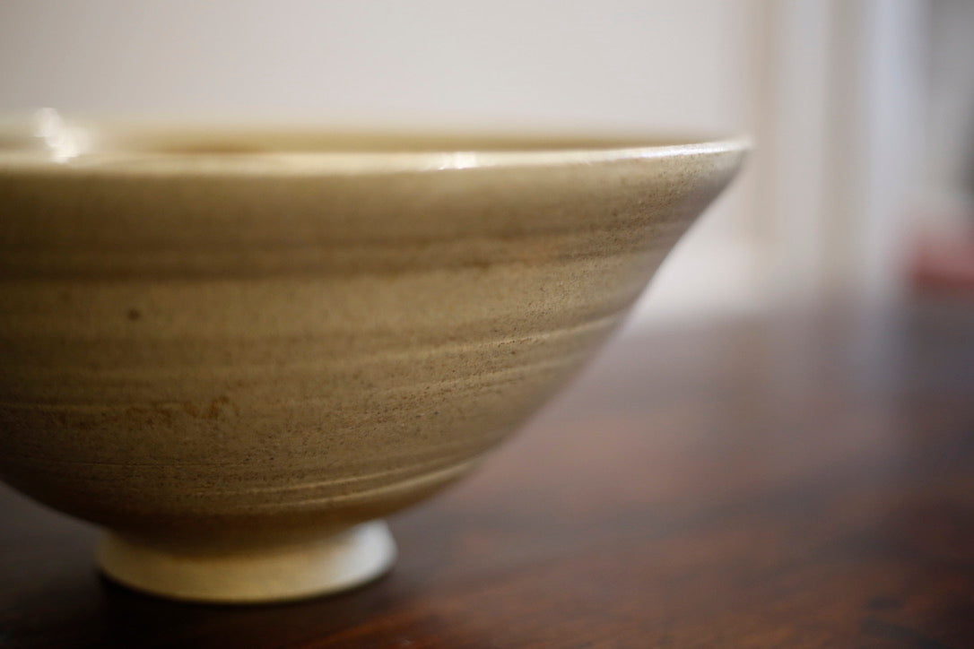 20th century Japanese influence studio bowl - TallBoy Interiors
