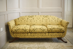 Early 20th century Regency style sofa