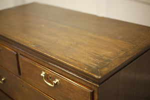 18th century Oak chest on stand - TallBoy Interiors