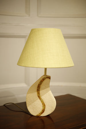 Studio Pottery lamp- Fissure - TallBoy Interiors