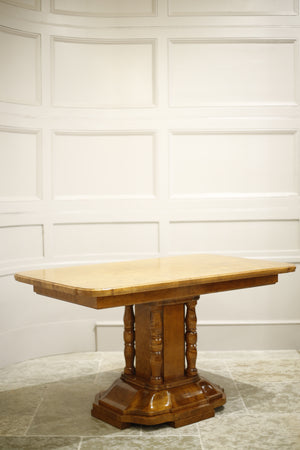 Mid 20th century Maple centre table - TallBoy Interiors