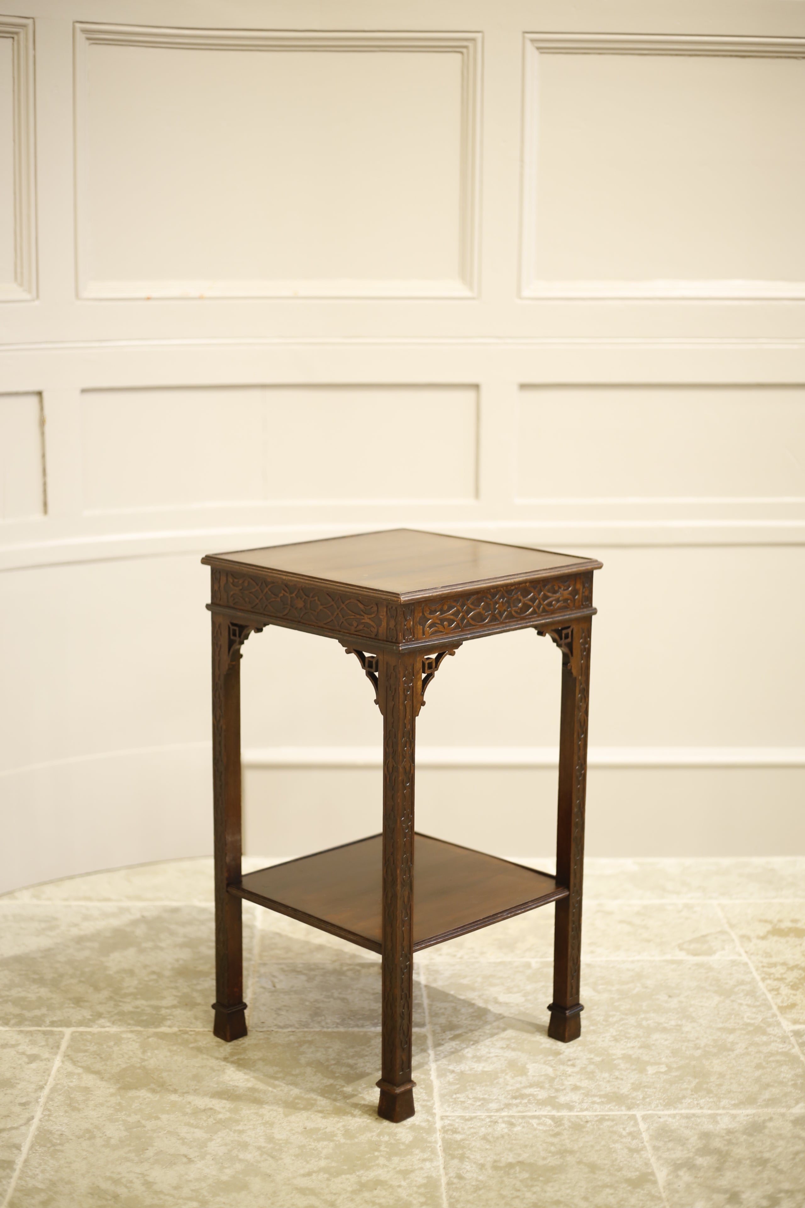 19th Century Mahogany Chippendale Side Table Tallboy Interiors