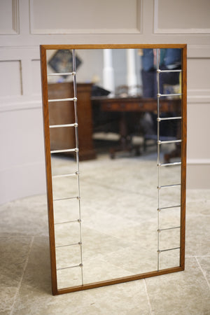 AB Glass and Tra Mid century Swedish mirror- Square
