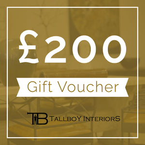 £200 TallBoy Voucher - TallBoy Interiors