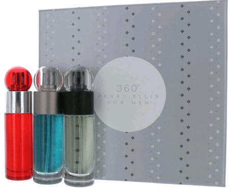 360 Perry Ellis Perfumes 360 Perry Ellis (M) Edt 30Ml+Red Edt 30Ml+Reserve Edt 30Ml Set