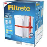 3M Appliances 3M Filtrete FAP03-RS Air Purifiers (Pack of 2, White)