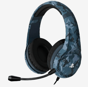 4GAMERS Gaming 4 Gamers Pro4-70 Stereo Gaming Headset Midnight Camo Edition For PS4
