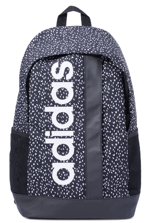 Adidas Back to School Linear Graphic Backpack - 22 Liter, 46 Cm
