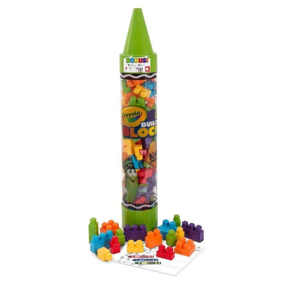 Amloid toy Kids at Work Learn and Play Blocks Tube (105 Pieces)