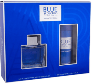 Antonio Banderas Perfumes Antonio Banderas Blue Seduction (M) Edt 100Ml+150Ml Deodorant Set