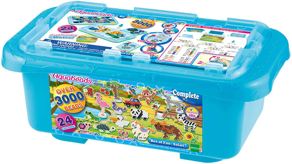 AQUABEADS Toys AQUABEADS BOX OF FUN SAFARI