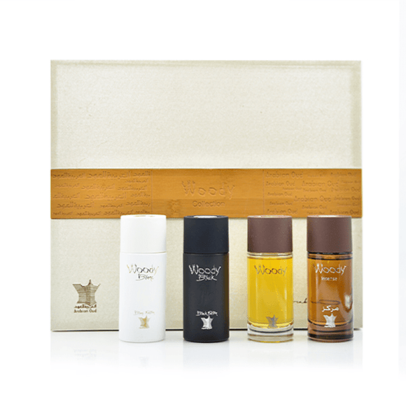 Arabic oud Perfumes Arabian Oud Woody Collection Gift Set 50 ml